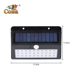Image 5 - Coba solar light outdoors led solar lamp 30/45/60 cob emergency light outside waterproof wall automatic light super bright