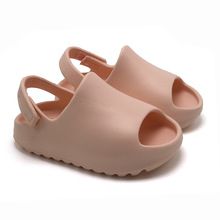 Summer 2021 new boys and girls trend jelly shoes children's sandals fashion beach Kids Soft shoes SO029
