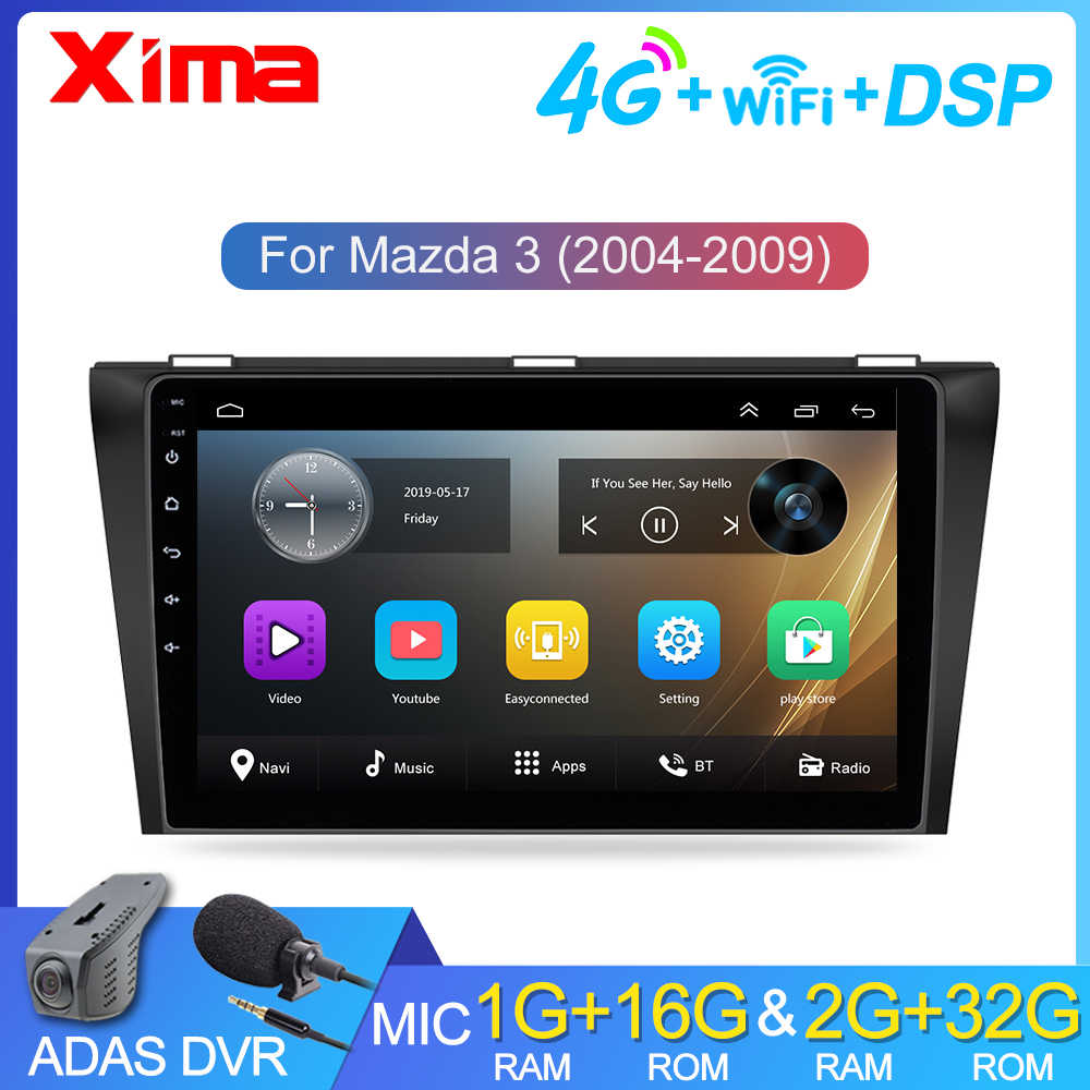 "9 ""RAM2G + 32G Android 9.0 Car Radio GPS Navigasi untuk Mazda 3 2004-2013 MAXX Axel wifi Auto Stereo Mobil Dvd Multimedia Player"