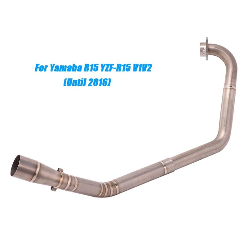 Для мотоцикла yamaha r15 yzf v1v2v3 выхлопная система из титанового
