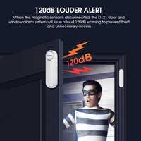 2020 KERUI Wireless Door/Window Sensor Alarm Remote Control 300ft 120dB Anti-Theft Door Alarms for Kids Safety Home Security