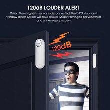 KERUI-Control remoto inalámbrico para puerta/alarma del Sensor de la ventana, 300 pies, 120dB, antirrobo, alarmas de puerta para seguridad del hogar para niños, 2020