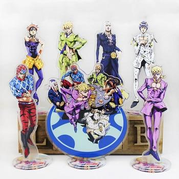 Anime JoJo's Bizarre Adventure Acrylic Stand Model Toys Anime Acrylic Stand Collection Action Figure Toys High Quality DIY Toy