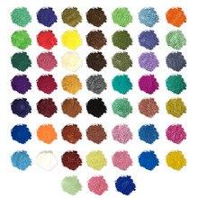 Слюда Порошковые цветовые пигменты порошок эпоксидная смола металлик 52 Цвета s x5g мыло цвет набор цвет пигмент Порошковая слюда креативный продукт