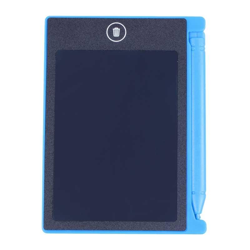 4.4 Inch LCD EWriter Paperless Memo Pad Máy Tính Bảng Viết Vẽ Đồ Họa Ban Xanh Dương