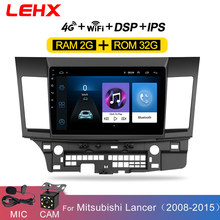 Lehx Mobil Android 8.1 Car Multimedia Player For Mitsubishi Lancer 2007-2012 10.1 Inch 2 DIN Radio Android Video audio Player(China)