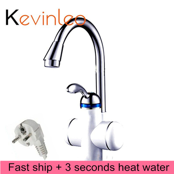 Instant Water Heater Fauce 220v 3000W Electric Faucet Tankless Water Heater Instantaneous Boiler Kitchen проточный водонагрев