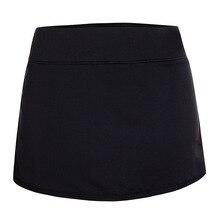 Новая женская спортивная юбка-шорты легкая Спортивная юбка с карманами для бега тенниса
