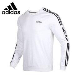 Новое поступление, оригинальный мужской пуловер Adidas NEO M ESNTL 3S SWT, спортивная одежда