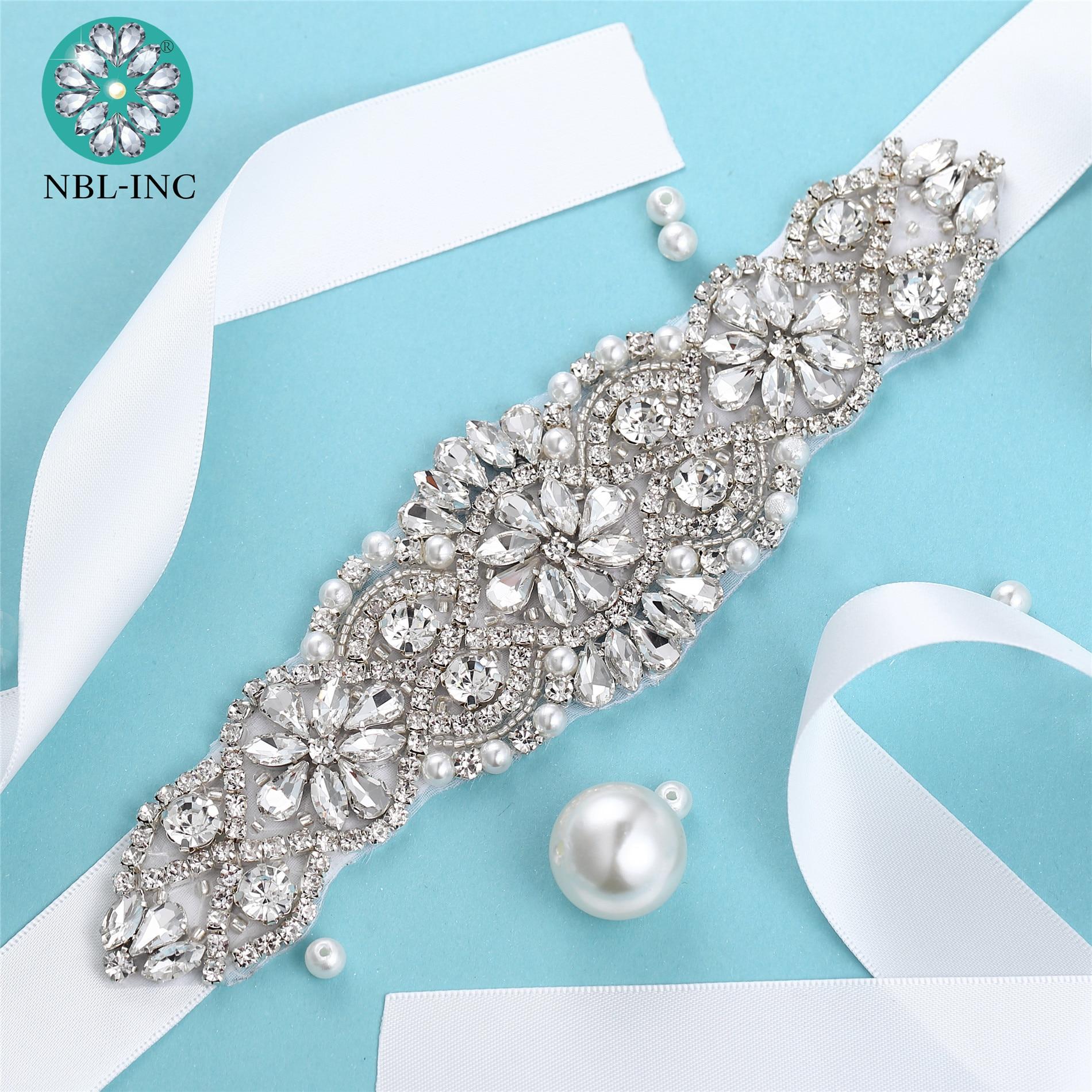 (1PC) Rhinestone bridal belt diamond wedding dress belt crystal wedding sash for wedding dress accessories WDD1041