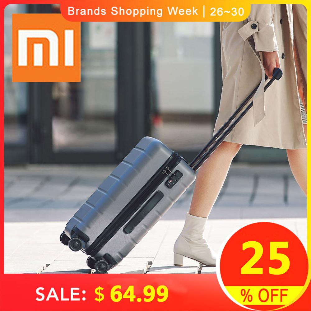 Tsa-Lock Spinner Rolling-Luggage Pc Suitcase Carry On Xiaomi 90fun Wheels Travel Business