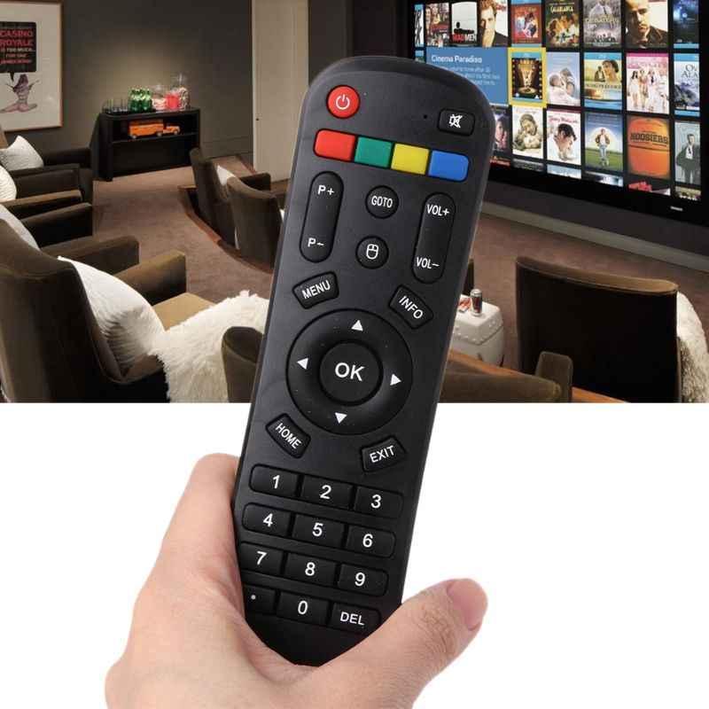 Télécommande universelle de remplacement pour HTV BOX A1 A2 A3 B7 Tigre TV Box Luna TV Box Lunatv Box IPTV5 Plus + IPTV6 IP