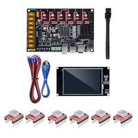 SKR Pro V1.1 Control Board + TFT35 V2.0 Press Screen + 6Pcs A4988 Driver Kit for 3D Printer Part