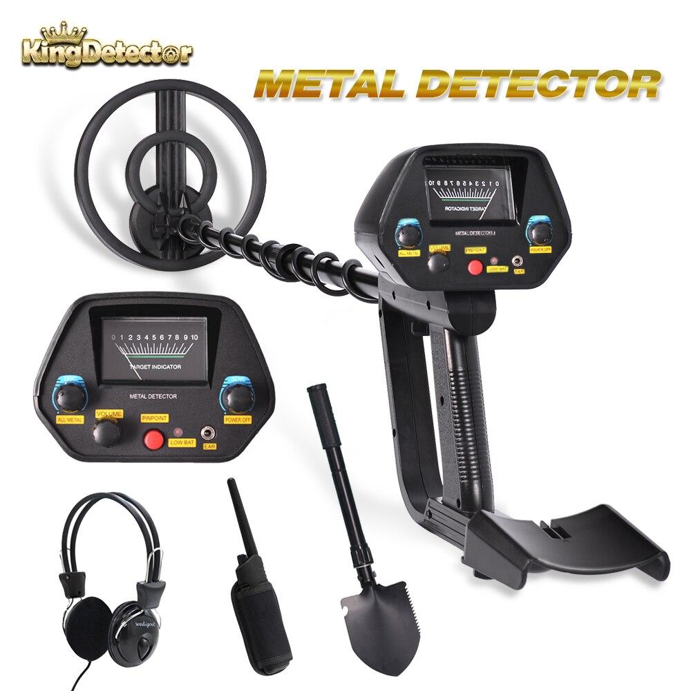 MD-4080 Metal Detector Underground Gold Length Adjustable Treasure Hunter Seeker Portable