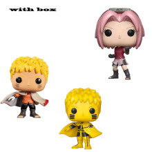 pop NARUTO HOKAGE SAKURA In stock with box Figure Toys model toy for children