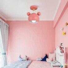 Scandinavian Children Ceiling Lamp Led Kids Room Girl Bedroom Track Decoration Indoor Lighting Lusters Luminaires Accessories