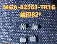 New original MGA-82563-TR1G MGA-82563-TR1 MGA-82563 82 SOT-363 20 PÇS/LOTE