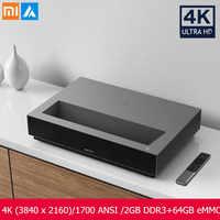 Xiaomi Fengmi 4K Proyector láser 3840x2160x150 pulgadas 1700 lúmenes ANSI 2GB DDR3 64GB eMMC Android 4K cine 3D 2,4G/5G WiFi BT
