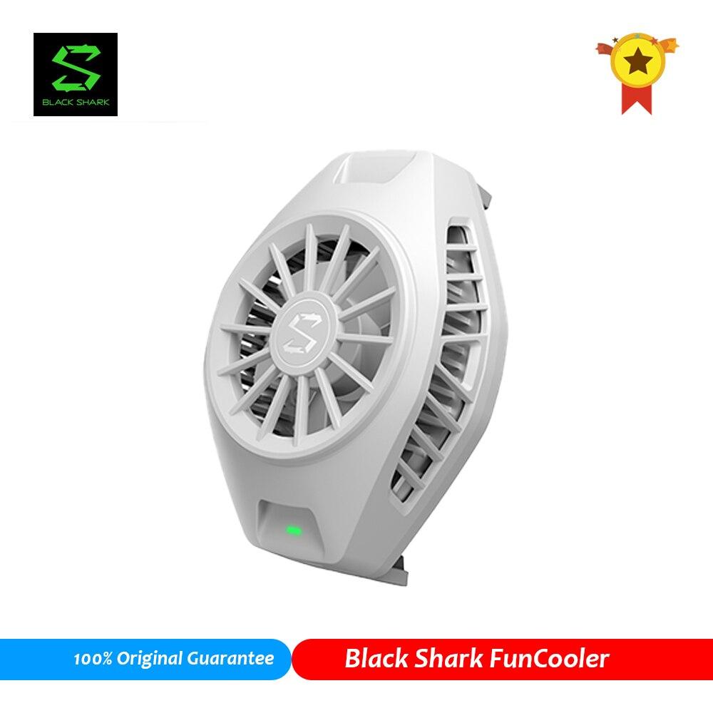 Черный Shark 2 3 Pro Телефон весело кулер с креплением сзади излучающий игровой мобильный телефон кулер вентилятор охлаждения для Xiaomi iPhone Huawei