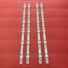 4 قطعة/المجموعة LED شريط إضاءة خلفي ل LG 49UV340C 49UJ6525 49UJ6585 49UJ6565 49UJ651V 49UJ670V 49UJ701V V17 49 R1 L1 ART3 2862 2863