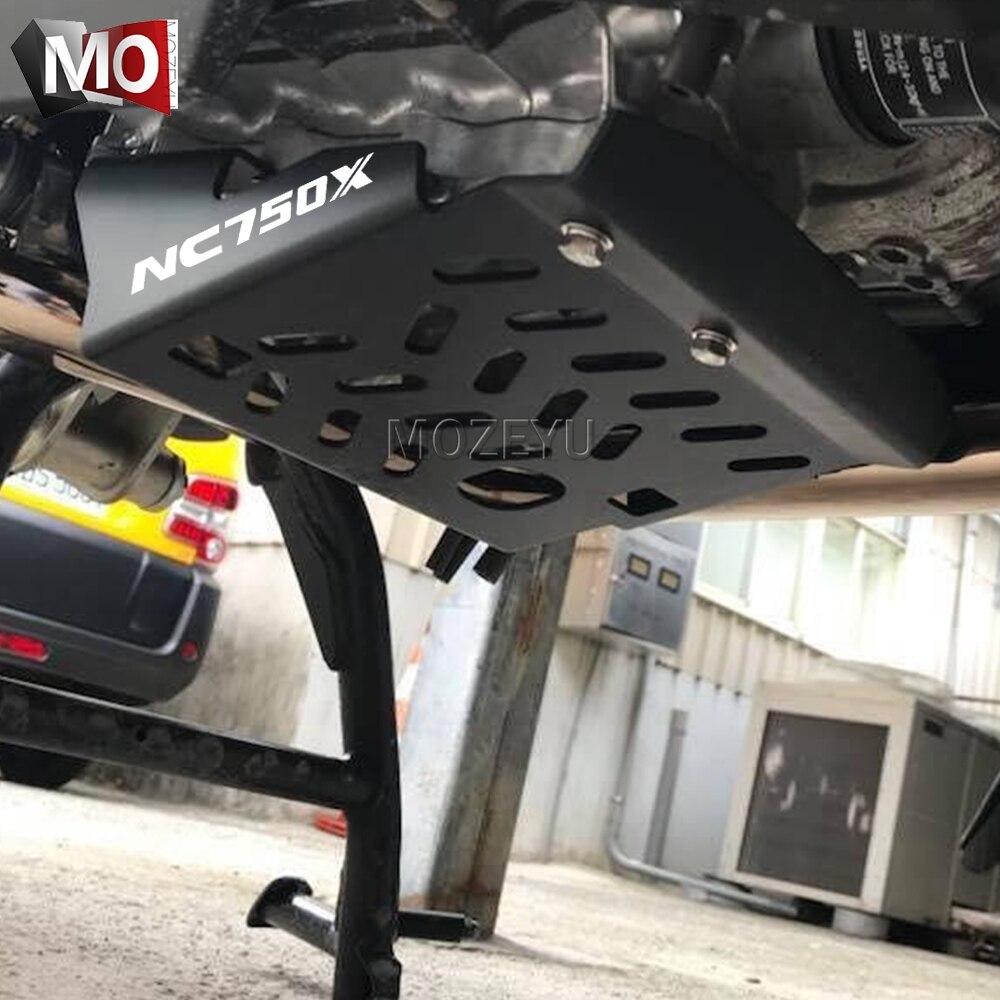 Accessoires moto NC750X plaque de Protection moteur garde châssis Protection couverture pour Honda NC750X NC750 X NC750 NC 750X2018-2019