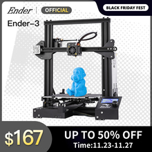 Ender 3 3D 프린터 키트 대형 인쇄 크기 Ender3/Ender 3X 프린터 연속 인쇄 전력 Creality 3D