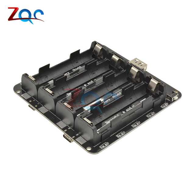 1//2//4X 18650 Battery Shield V3 V8 Power Bank 3V 5V USB Cable for ESP32 ESP8266