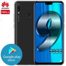 Original Huawei Y9 2019 เพลิดเพลินไปกับ 9 Plusโทรศัพท์มือถือ 6.5 4GB 128GB Kirin 710 Octa Core 4000MAh Android 8.1 ลายนิ้วมือ