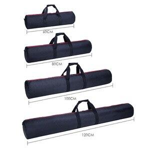 Image 3 - Profesyonel Tripod çantası Monopod kamera çantası omuz taşınabilir Tripod ışık standı paketi Oxford bez çanta fotoğraf saklama çantası