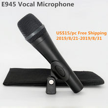 Finlemho Karaoke Microphone Professional Recording Studio Home Dynamic Capsule Mic Vocal Singing E945 For DJ Speaker Mixer Audio(China)
