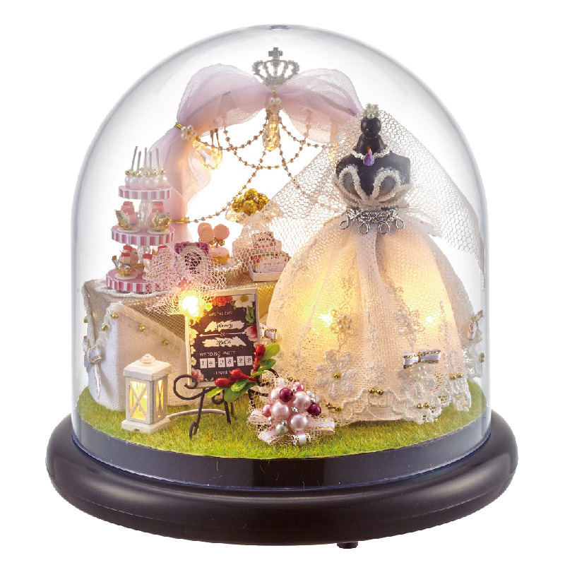 Handmade DIY Castle in the Sky Music Box Music Box Creative Ornaments for a Girlfriend Birthday Gift antique gift