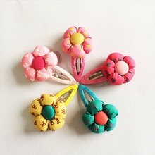1 Pcs/lot New Arrival Hairpins Children Bow Printing Flower Hair Accessories Kids Floral Headwear Girls Gift Lovely Clip