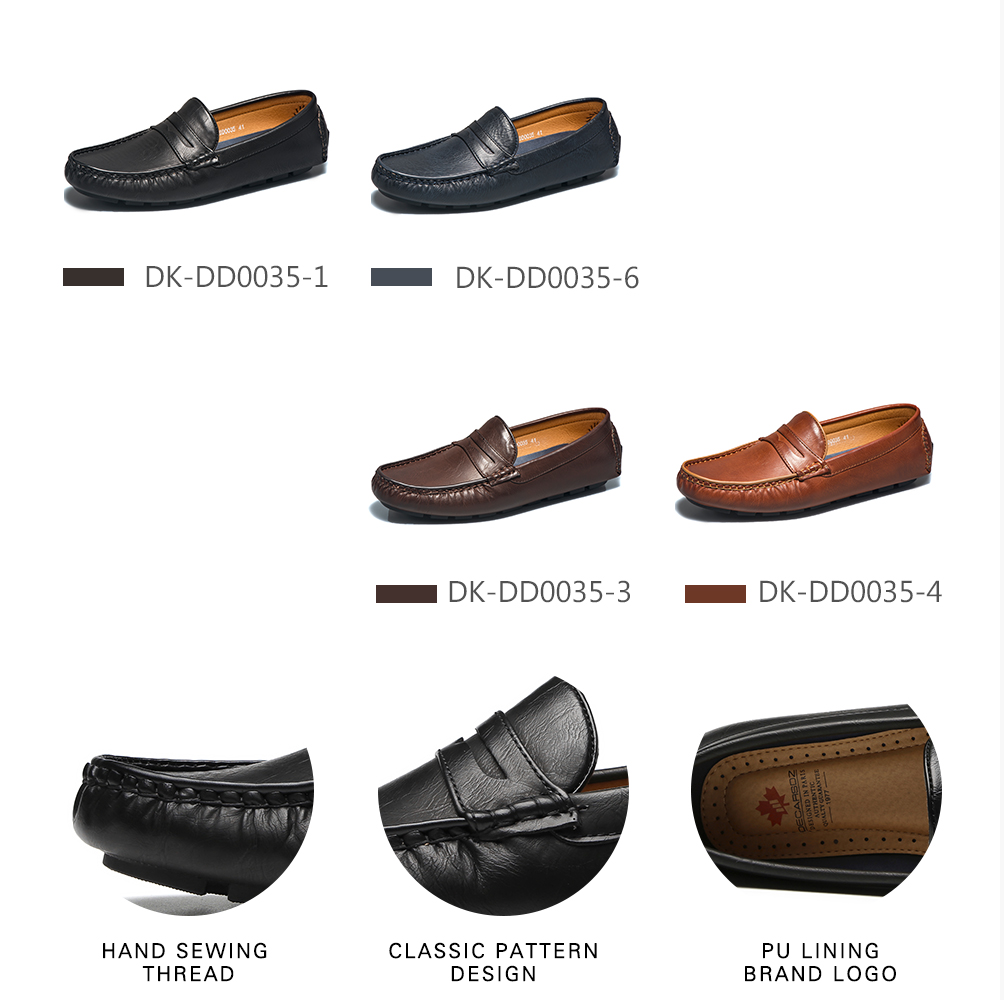 Hded3fab9fdf845359624286f1ab9561fI Men's Casual Shoes Men Moccasins Autumn Fashion Driving Boat Shoes Male Leather Brand Slip-On Classic Men's shoes Loafers