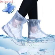 Rain Boots Snow Outskirts Travel Shoe Covers Waterproof Non-slip Dust-proof For Men Women Children Shoe Covers Boots E11518