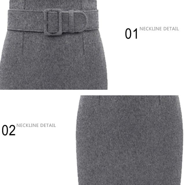 Women's Winter Warm Straight High Waist Skirts 2019 Fall Bodycon Pencil Long Skirts Plus Size S-3XL Female Elegant Slim Skirts 5