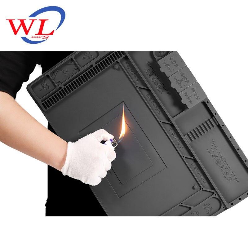 Mat Repair-Station WL For With Magnetic W-168 Desk-Maintenance-Platform Soldering-Pad