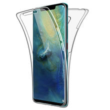 360 Degree Case for Huawei P Smart Plus 2019 P20 P30 lite Mate 10 20 Pro Honor 8A 8S Y5 Y6 Y7 Pro 2019 Prime Full Body Cover TPU(China)