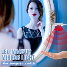 Light Makeup-Lamp Dressing-Table Vanity-Mirror-Light Bedroom-Decor LED USB Sensor 5V
