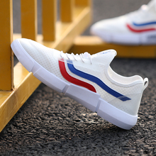 Fashion Men's Flats Casual Shoes Light Breathable Trend