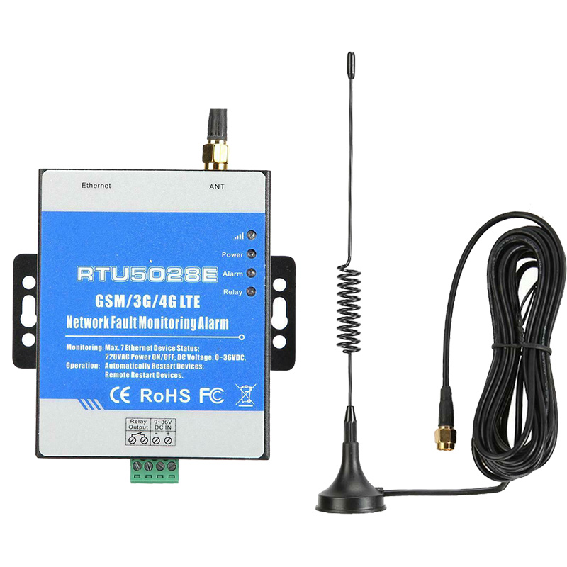 GSM 3G LTE Phase Loss Monitoring Alarm AC DC Power Failure Automation Switch