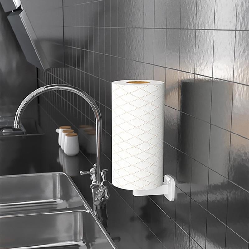 Креативный самоклеящийся держатель для бумаги, держатель для туалетной бумаги, вешалка, модный держатель для хранения бумаги, Товары для