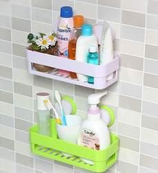 Seamless контейнер на присоске Полка, туалетный полый из воды слив полка для хранения xi bi ванная комната угловой кронштейн пластиковая стойка