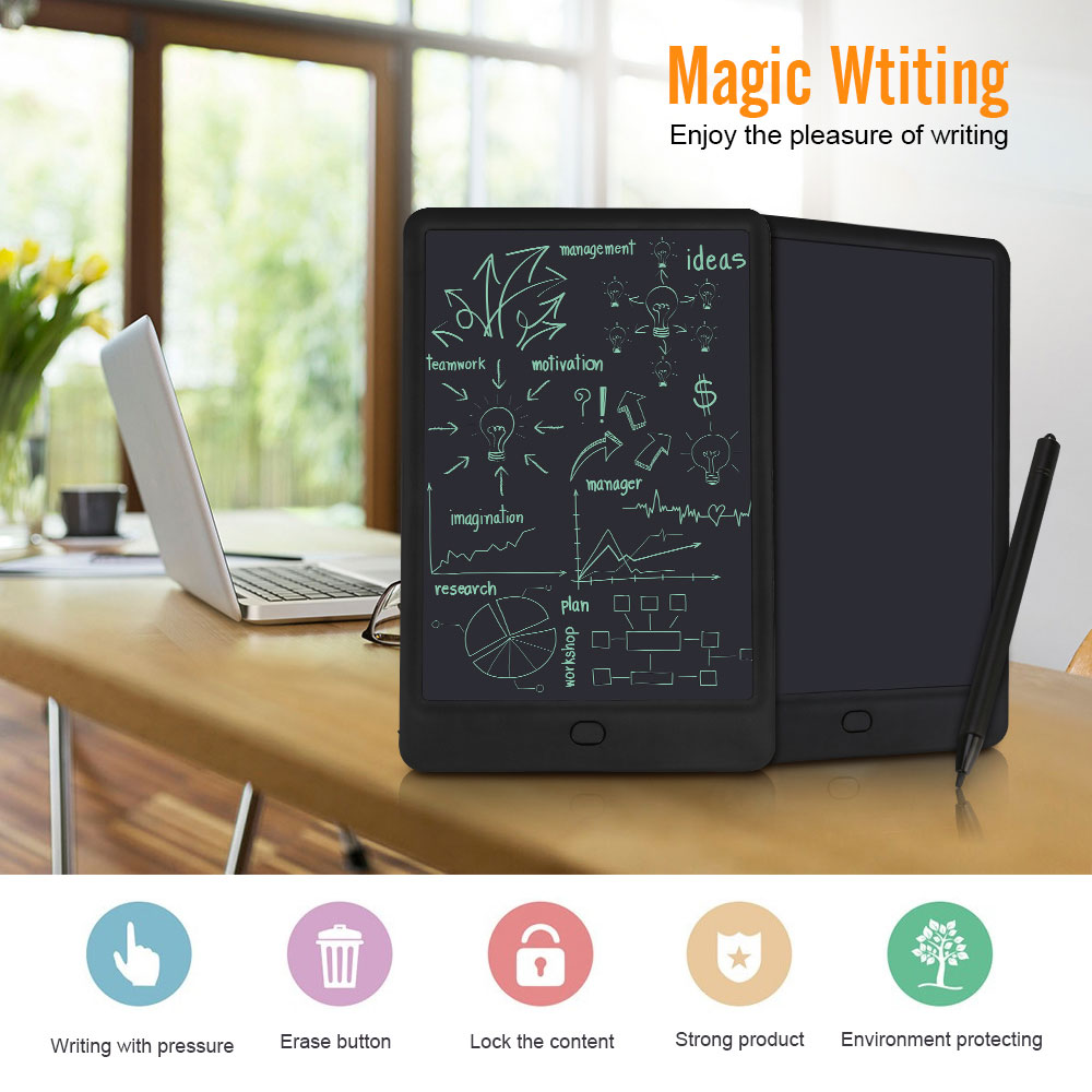 Clearance 10 Inches Digital Graphics Tablet Erasable Drawing Board LED Display LCD Writing Tablet Electronics Portable