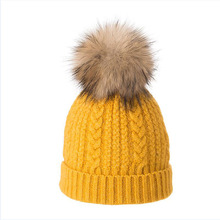HANGYUNXUANHAO Winter Hats For Women Twist-type Cashmere Knitted Hat Female Beanies Girl Gorro Fashion Thick Warm Pompom Caps women new design caps twist pattern women winter hat knitted sweater fashion hats 6 colors y1