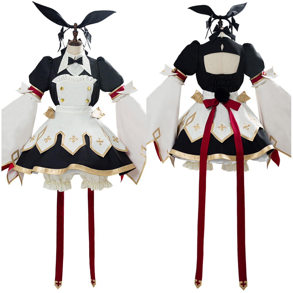 Fate Grand Order Cosplay Saber Astolfo Costume Adult Female Girl Maid Dress Uniform Halloween Carnival Costumes