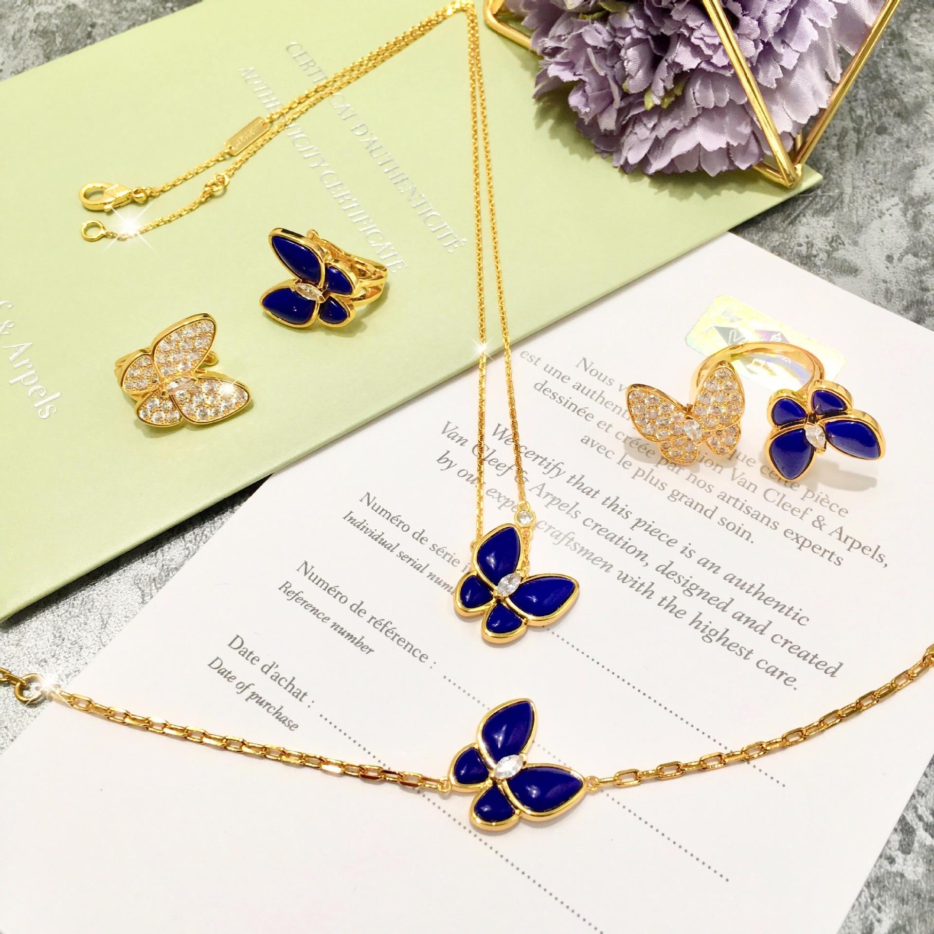 Bague femme chaude bijoux belle papillon mode personnalité visage lisse pour envoyer des cadeaux pour les amoureux 2019 nouveau - 5