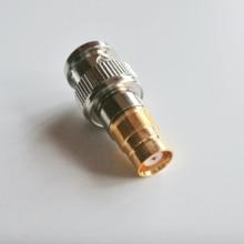Кабель BNC Q9-L9, коаксиальный разъем, штекер BNC-гнездо L9, разъем BNC-L9, никелированные прямые коаксиальные RF адаптеры