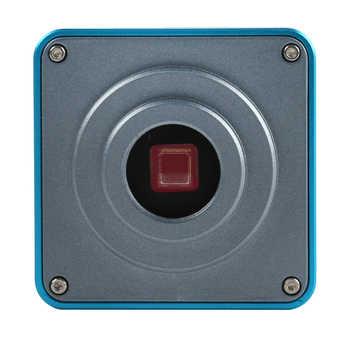 1080P 60FPS 2K 38MP HDMI USB Industrial Electronic Digital Video Microscope Camera TF Video Recorder+180X 300X 100X C mount Lens