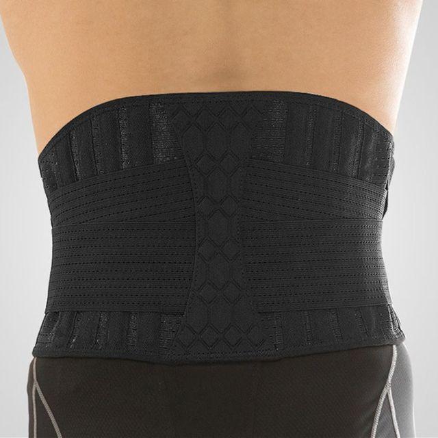 Waist Support Strong Lower Back Supporter Corset Waistband Sports Sweat Belt 2