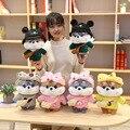 30 см мультфильм симпатичная собака Шиба ину косплей, наряды, плюшевые игрушки, мягкие куклы животных, мягкая подушка для детей, девочек, пода...